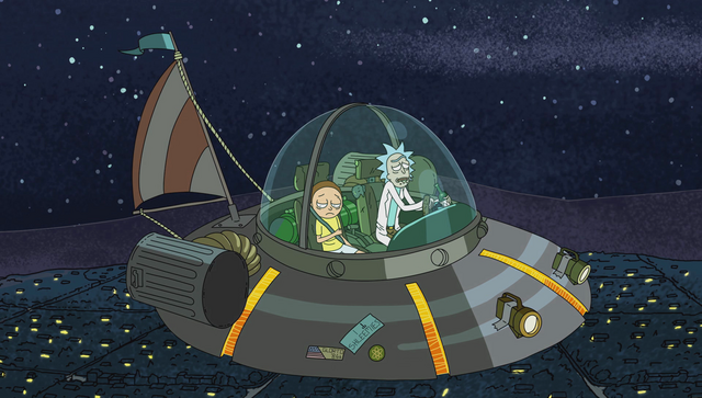 File:Rick and Morty in the flying wackamadoodle.png