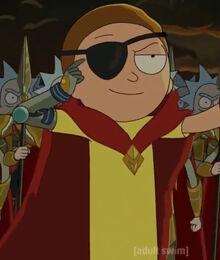 Evil Morty NeverRicking Morty