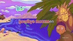Rick and Morty Karaoke Goodbye Moonmen adult swim