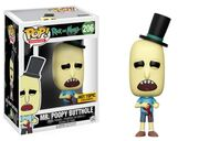 Funko-Pop-Rick-and-Morty-206-Mr.-Poopy-Butthole-Bleeding-Hot-Topic
