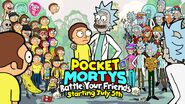 Pocket mortys multiplayer announcement