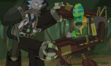 Wooden Combat Suits The Ricks Must Be Crazy 14 40