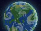 Screaming Sun Earth