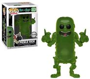 Funko-Pop-Rick-and-Morty-333-Pickle-Rick-Translucent-FYE