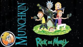 Munchkin Rick and Morty — game preview at Gen Con 50