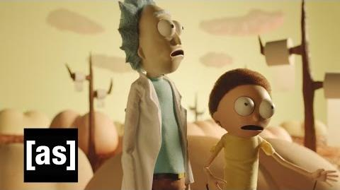 Buttworld - Rick and Morty - Adult Swim