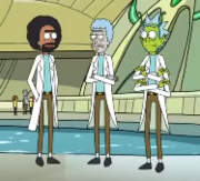 Black and Alien Rick