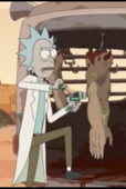 S3E2 Rick removing Armthony's Physique