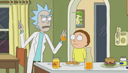 S1e6 rick quotation marks