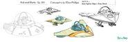 S3e1 Elisa Phillips fighter ship