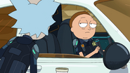S3e7 grizzled morty cop