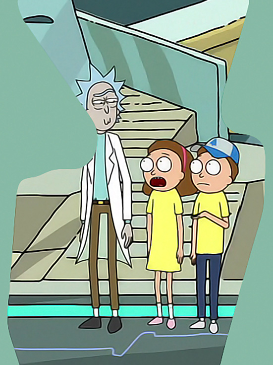 Dipper and Mabel Mortys | Rick and Morty Wiki | FANDOM