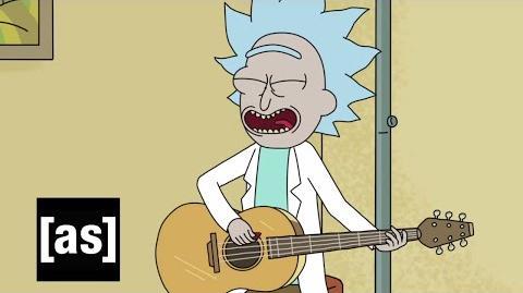 Tiny Rick Song Rick and Morty Adult Swim