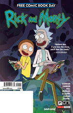 FCBD Rick and Morty 2017
