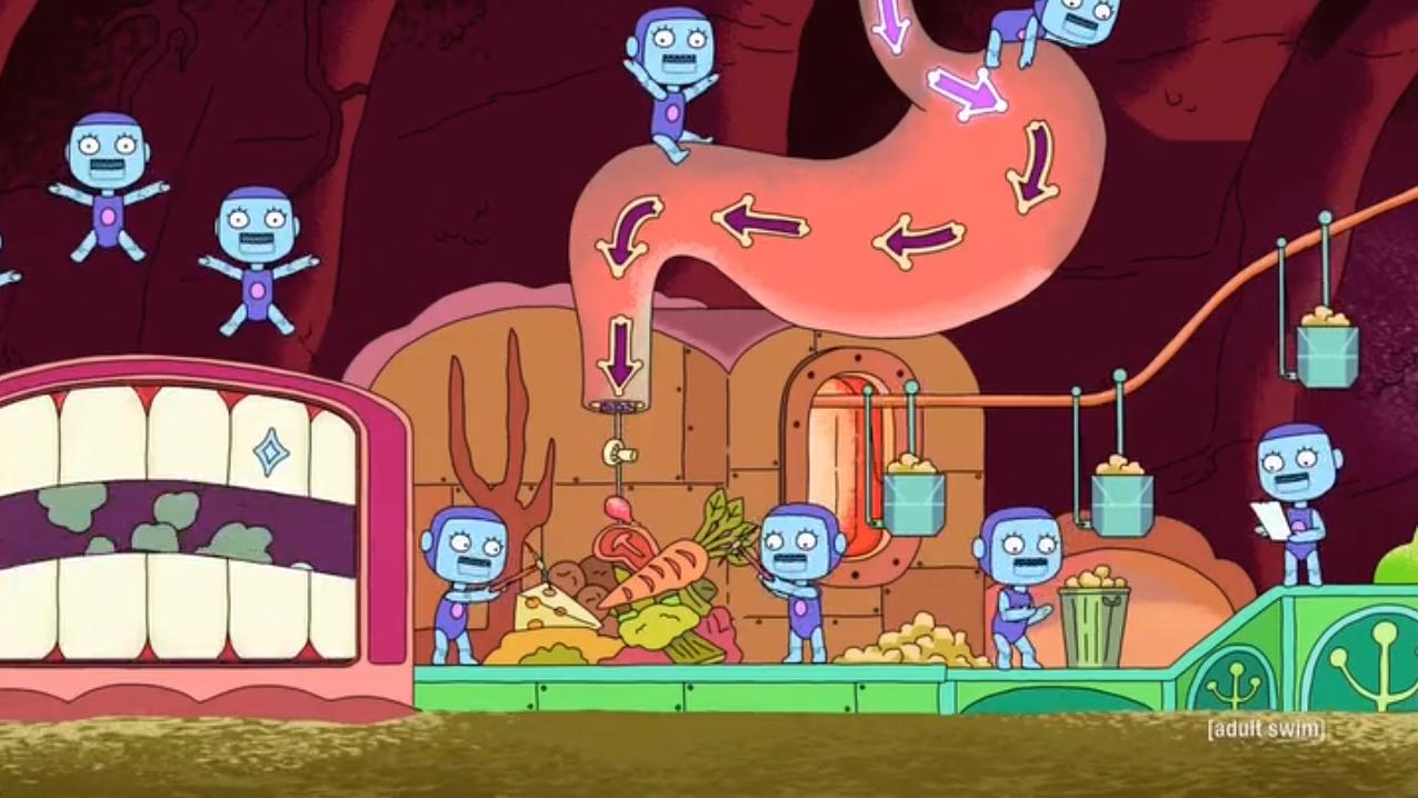 It's a Small, Small Intestine | Rick and Morty Wiki | FANDOM