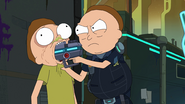 S3e7 gun in mouth