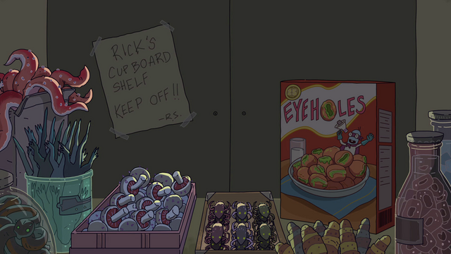 File:S2e8 rick's cupboard shelf.png