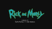 Rick and Morty title screen