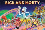 Rick and morty monster