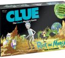 Rick and Morty Clue (Board Game)