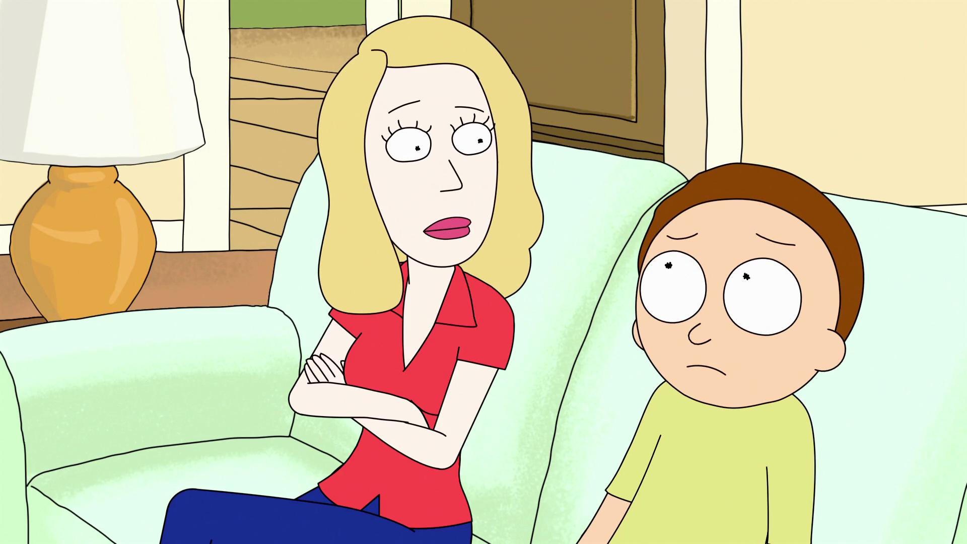 From naked and morty beth rick