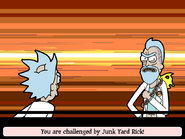Junk Yard Rick battle