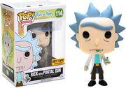 Funko-Pop-Rick-and-Morty-Rick with portal gun-HotTopic