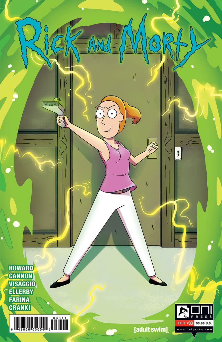 Crazy 88 Auto >> Rick and Morty Issue 33 | Rick and Morty Wiki | Fandom