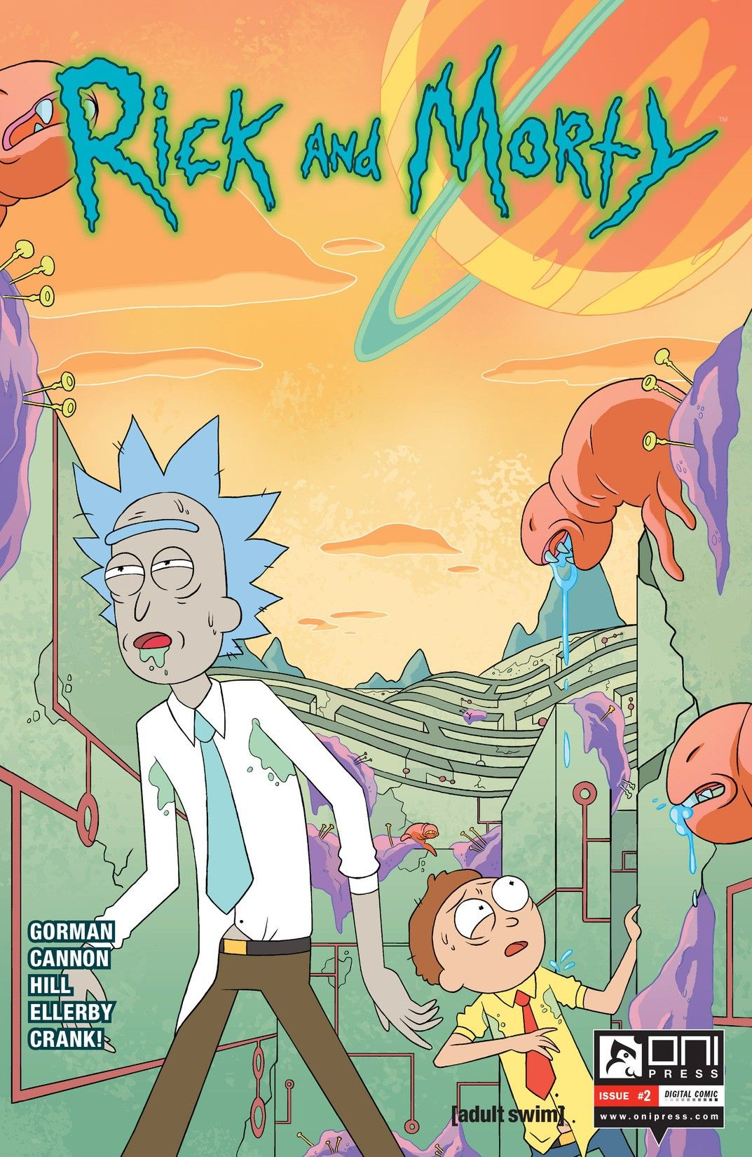 Rick and Morty Issue #2 4th Printing *We Combine Shipping*