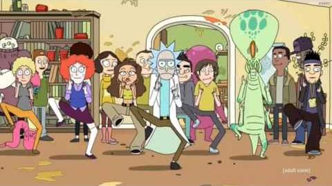Rick and Morty - The Rick Dance