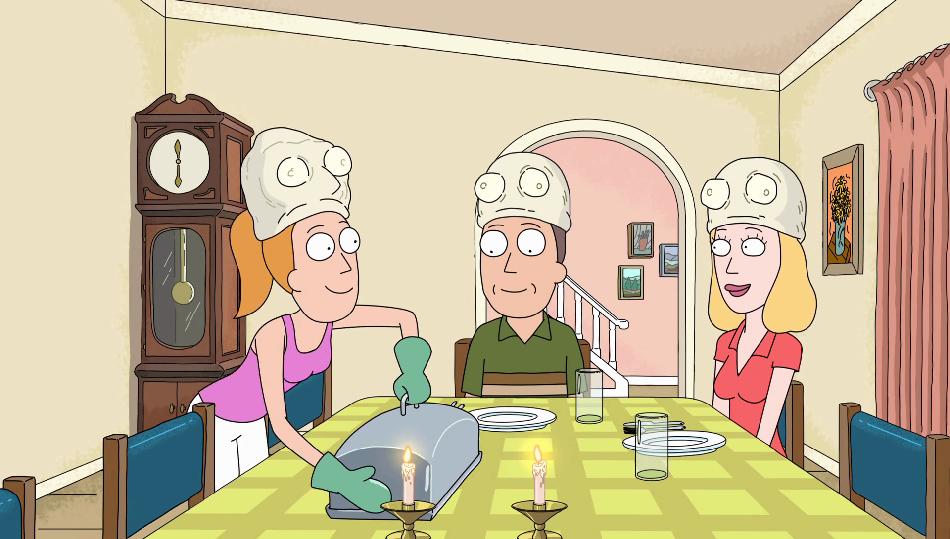 Rick And Morty Dining Room