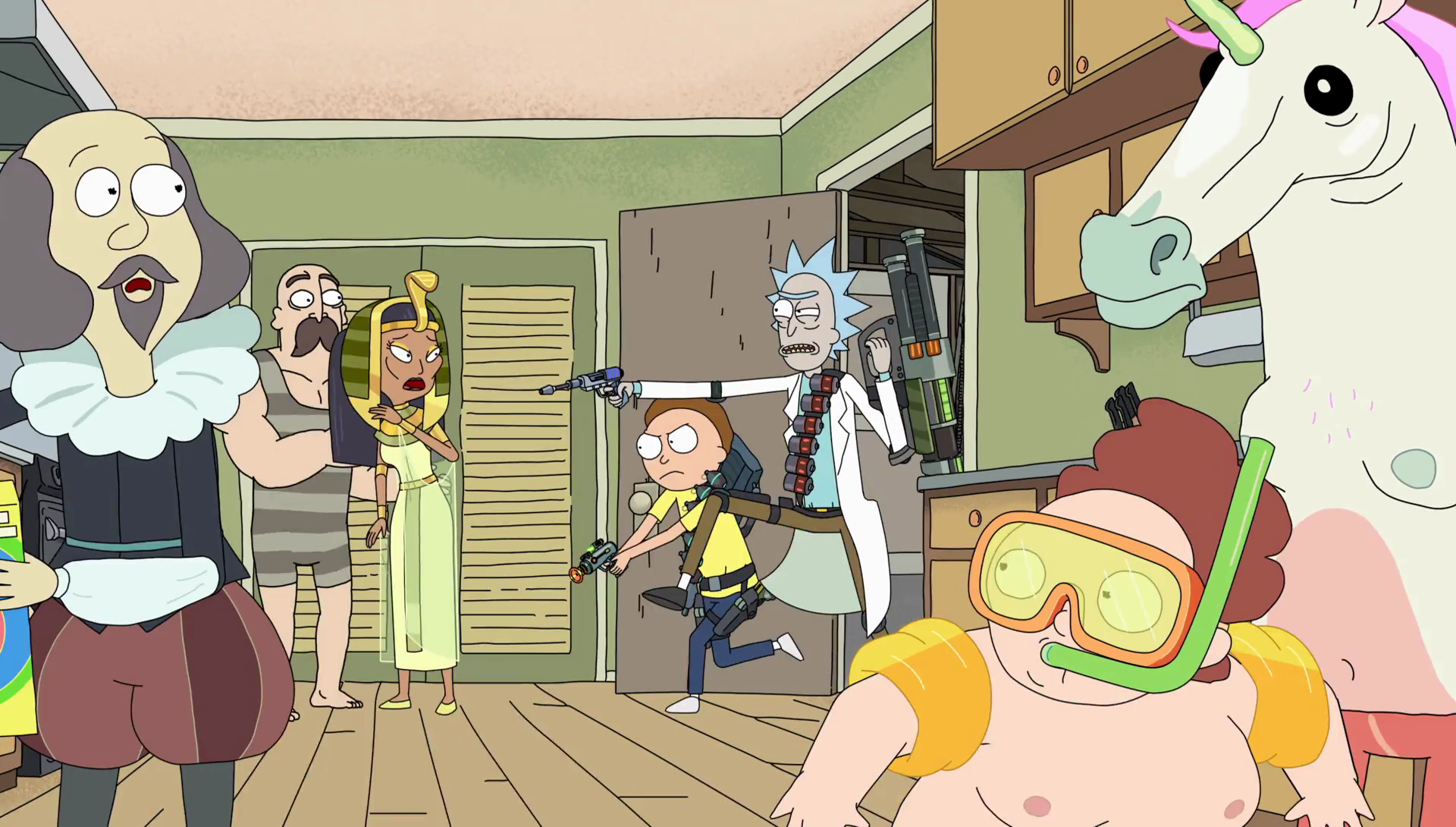 Image S2e4 Cleopatrapng Rick And Morty Wiki Fandom