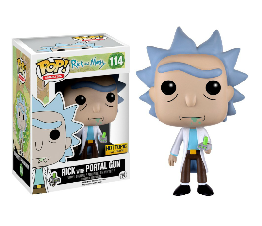 POP! Vinyl Exclusives   Rick and Morty Wiki   FANDOM powered by Wikia