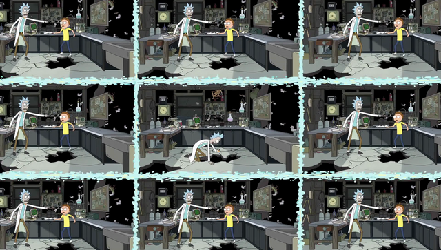 File:S2e1 other ricks and mortys argue.png