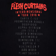 Krvi rnm flesh curtains tee back