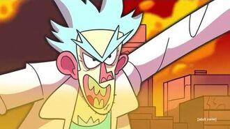 Rick and Morty Season 4 Promo Battle