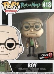 Funko-Pop-Rick-and-Morty-418-Roy-GameStop-Blips-and-Chitz-Mystery-Box-Exclusive