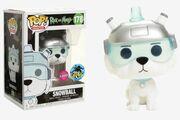 Funko-Pop-Rick-and-Morty-178-Snowball-Flocked-2017-Comikaze