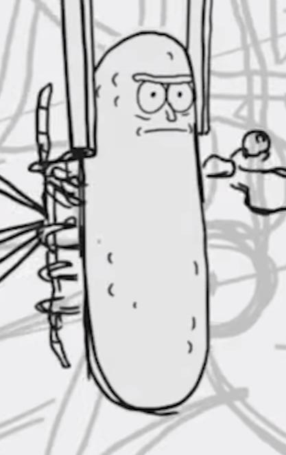 pickle rickpng