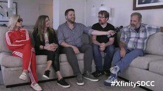 Rick & Morty's Dan Harmon, Justin Roiland, Sarah Chalke & Spencer Grammer Talk S4 at SDCC 2019