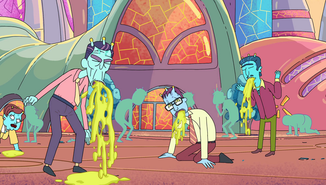 File:S2e3 even more people throwing up.png