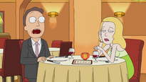 S1e5 beth and jerry at dinner