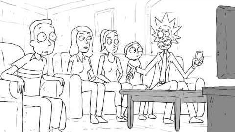 Rick and Morty Season 2 NYCC Animatic Rick and Morty Adult Swim