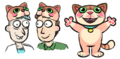 Issue 21 CJ Cannon doofus rick and jerry cat hat.png