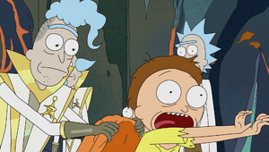 S1e10 traumatized mortys
