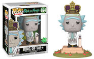 Funko-Pop-Rick-and-Morty-Figures-694-King-of-with-sound