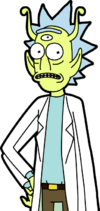 Alien Rick Sprite revised