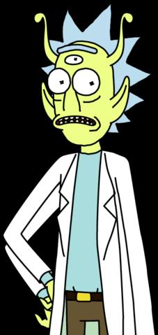 File:Alien Rick Sprite revised.png