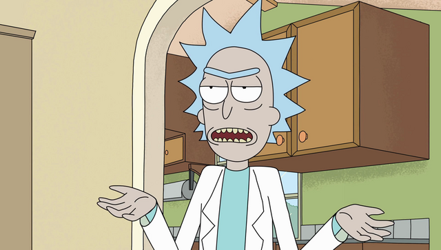 File:S2e3 rick playing it off.png