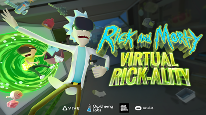 Image result for RICK AND MORTY VR